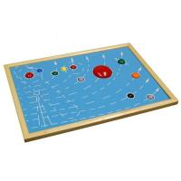 Quality Montessori Materials - Astral Map for sale