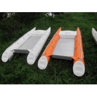 Wholesale Environment Concerned Catamaran Fishing Boats , 500cm PVC Fabric Catamaran Power Boats from china suppliers