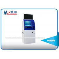 Wholesale Windows 8 / 10 OS Coin Counting Kiosk Multi Touch Screen Wifi / 3G / Bluetooth Connection from china suppliers