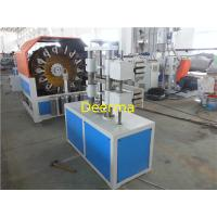 Wholesale Soft PVC Fiber Reinforced Hose Pipe Making Machine Extrusion Line , SGS from china suppliers