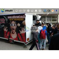 Wholesale 9 Motion Seats Mobile Trailer 5D Movie Theater , Truck Mobile 5D Cinema from china suppliers