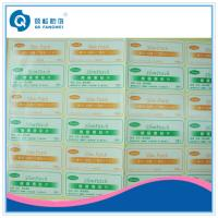 Quality Permanent adhesive waterproof labels for glass / Shampoo for sale