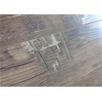 Wholesale 8mm V Texture Laminate DIY Concrete Floors , Floating Oak Wood Flooring Glueless from china suppliers