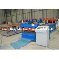 Wholesale Corrugated Roof / Roofing Sheet Roll Forming Machinery Panasonic PLC control from china suppliers