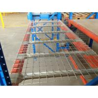 Quality Welded Galvanized Wire Mesh Decking for Selective Pallet Racking Small Items Storage for sale