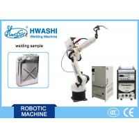 Buy cheap Automatic 6 Axis Robot Arm Industrial Welding Robotic Arm Metal Jerry Can Making from wholesalers