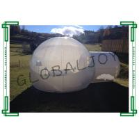 Wholesale PVC Tarpaulin Inflatable Clear Plastic Dome Tent , Clear Igloo Tent from china suppliers