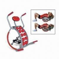 Wholesale AB Back Stretcher with Handle Bars, Made of Steel Tube, Foam and Rubber from china suppliers