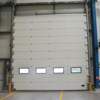 Wholesale Warehouse Workshop Sectional Overhead Door Safety Commerical Garage Doors from china suppliers