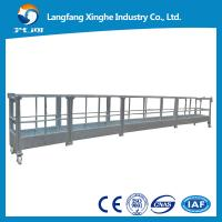 Wholesale zlp800/630 aerial suspended platform / window cleaning cradle / gondola working platform from china suppliers