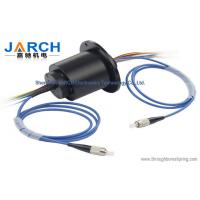 Wholesale Fiber optic rotary joint with 4 circuits 5A of electric optical rotary joint from china suppliers