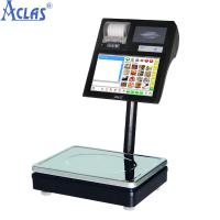 Wholesale Label Printing Scale,POS Scale,Touch Screen Scale,Touch Label Scale from china suppliers