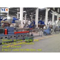 Wholesale double stage plastic granulator line/PP/PE/ABS/EVA crumbles pelletizing line from china suppliers