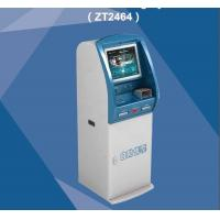 Buy cheap Booking Ticket Vending Kiosk Self Service ZT 2464 Card Payment Terminal from wholesalers