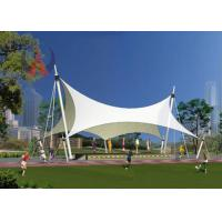 Quality Strained Membrane Park Shade Structures Outdoor Shade Awnings Knock Down Type for sale