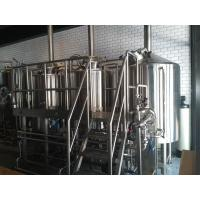 Wholesale Steam Heated 7BBL Brewhouse , AISI 316 Laboratory Micro Breweries from china suppliers
