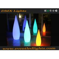 Wholesale PE Led Furniture decorative LED light pillar with remote control , 1 year warranty from china suppliers