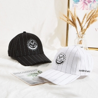 Wholesale 6 panel sports embroidery logo white black custom 100% cotton baseball cap from china suppliers