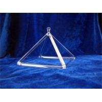 Buy cheap Top quality quartz crystal singing pyramid from wholesalers