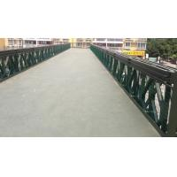 Wholesale Modular Corrugated Steel Bridge Decking , Anti - Rust Painted Bailey Bridge Components from china suppliers
