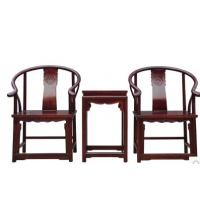 Buy cheap three-piece new Chinese style tea table archaize furniture office armchair from wholesalers