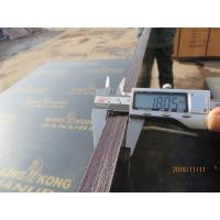 Wholesale Black film faced plywood with logo, black faced shuttering plywood, Concrete Formwork / Construction Material from china suppliers