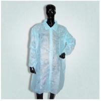 Wholesale Waterproof Disposable Surgical Gowns , Lab Visting Gown Good Tensile Strength from china suppliers