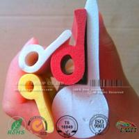 Buy cheap P shaped Closed Cell Silicone Sponge Strips,P shaped red color silicone profile gasket for heating machines from wholesalers