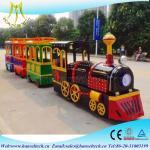 Wholesale Hansel outdoor door amusement park equipment fiberglass amusements rides electric train for sale from china suppliers