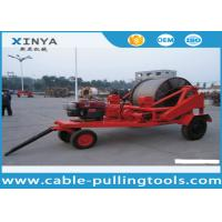 Wholesale 3 - 8T Multi function Full Cable Drum Trailer Machine for electric power construction from china suppliers