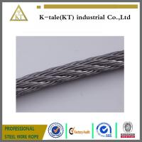 Wholesale SUS304 316 6*19+fc stainless steel cable for tow made in china with cheap price from china suppliers
