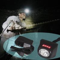 Wholesale KL4.5LM digital and cordless cree led rechargeable battery mining lamp from china suppliers