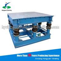 Wholesale Electric alluvial gold ore shaking vibrator table for tile from china suppliers