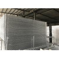 Buy cheap Temporary Security Construction Fencing Panels 1.83mx3.65m Mesh 57mmx57mm Diameter3.2mm/10Ga from wholesalers