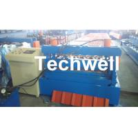 Wholesale 0.3 - 0.8 mm Thick Roof Sheet Cold Roll Forming Machine with PLC Computer Control from china suppliers
