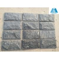 Wholesale Black Quartzite Mushroom Stone Natural Gate Column Stone Quartzite Mushroom Wall Stone from china suppliers