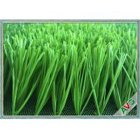 Wholesale Abrasion Resistance Football Artificial Turf , Synthetic Grass For Soccer Fields from china suppliers
