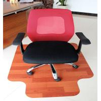 Wholesale Eco-Friendly Large Wooden Heavy Duty Chair Mats For Plush Car / Bedroom Floor from china suppliers