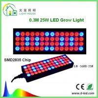 Reflector 25w Led Weed Growing Lights , Square Red Led Plant Grow Lights
