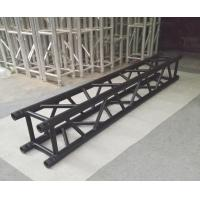 Wholesale 4 Sides Brace Tube 290*290mm Aluminum Black Spigot Truss for Outdoor Indoor Use from china suppliers