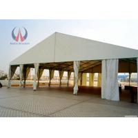 Wholesale Spacial Ridge Shape Outdoor Wedding Ceremony Tent , Metal Work Backyard Party Tent from china suppliers