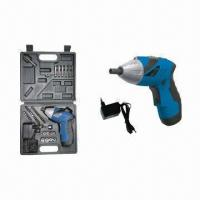 Wholesale Cordless Screwdriver; ni-cd battery 4.8v 600mah No-load speed 180rpm 3-5hours charger from china suppliers