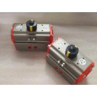 Wholesale aluminum alloy body pneumatic actuator mounting plate rotation angle 90 ° from china suppliers
