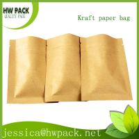 Wholesale 3 sides sealed kraft paper food bag from china suppliers