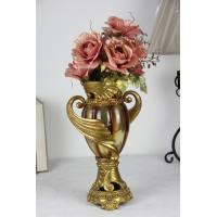Wholesale Vintage Luxury  amber color table vase from china suppliers