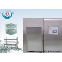 Wholesale Biosafety Pharmaceutical Autoclave With Secondary Temperature Sensor In Chamber Drain from china suppliers