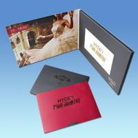 Wholesale High End Business Gift 4.3 Inch Christmas Video Greeting Cards With Artwork Printing from china suppliers