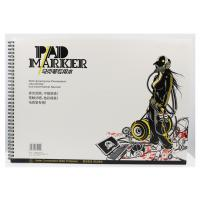 Wholesale Artist painting pad , the marker pad , A3 / A4 / A5 , low permeation marker pad from china suppliers