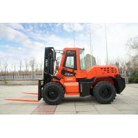 Wholesale Brand new FD35W 3.5t all terrain diesel forklift with sideshift use for moving and lifting cargo with  Dual front tyre from china suppliers