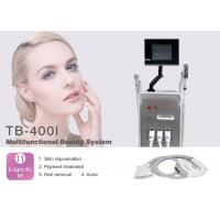 Wholesale Multifunctional 4 In 1 Hair Removal SHR Elight RF Nd Yag Laser for Tattoo Removal Wrinkle Removal from china suppliers